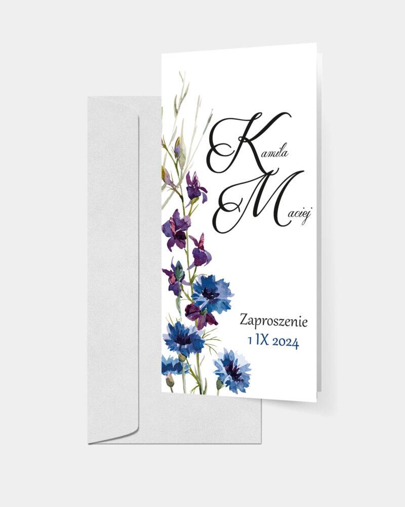 Polne Kwiaty DL z kopertą