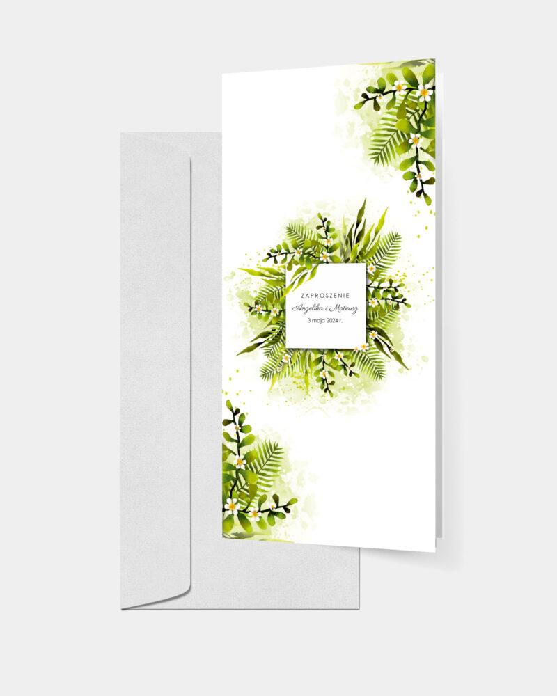 Zielono Mi DL z kopertą