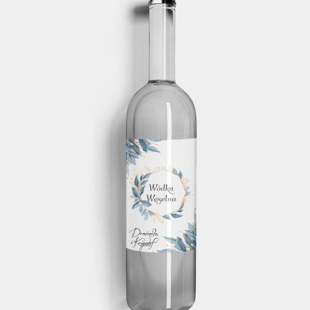 etykieta na alkohol subtelne