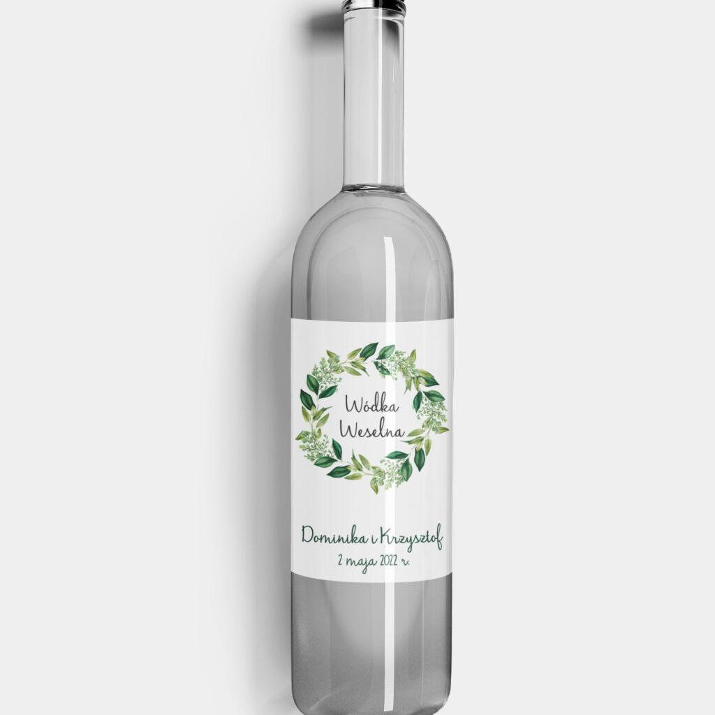 Etykieta na alkohol Świtezianka