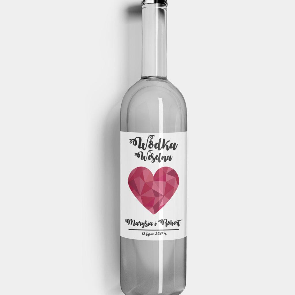 Etykieta na alkohol Big Love