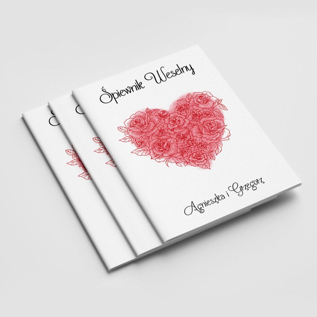 śpiewnik weselny valentine