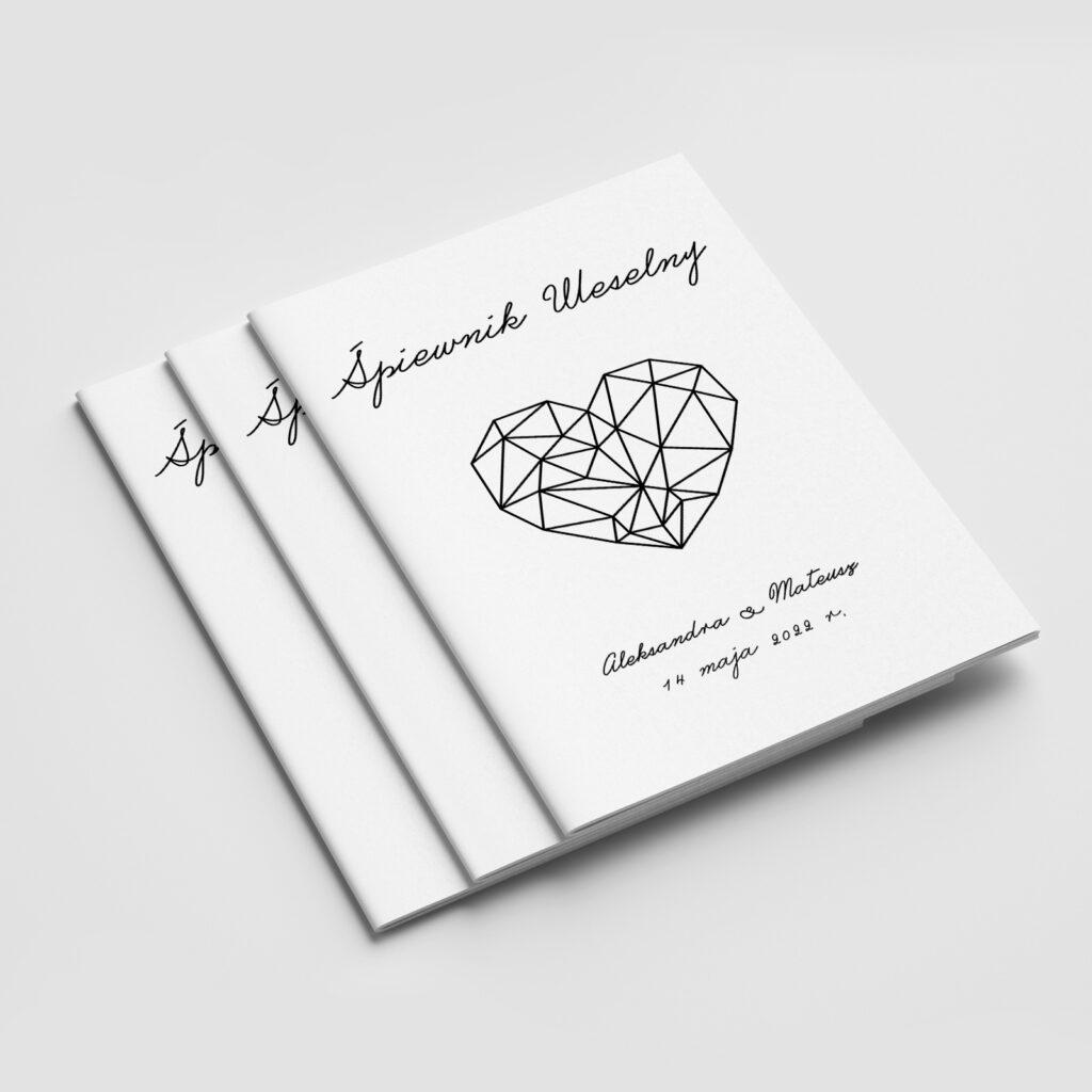 śpiewnik weselny diamentowe serce