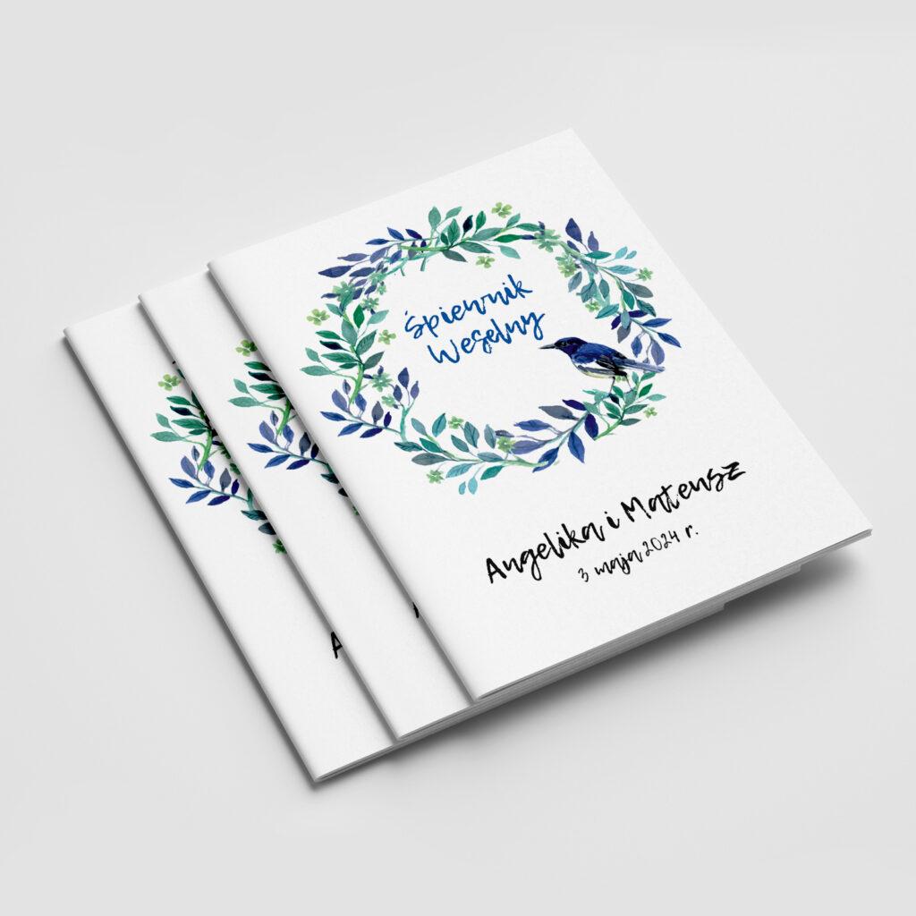 śpiewnik weselny niebieski ptak
