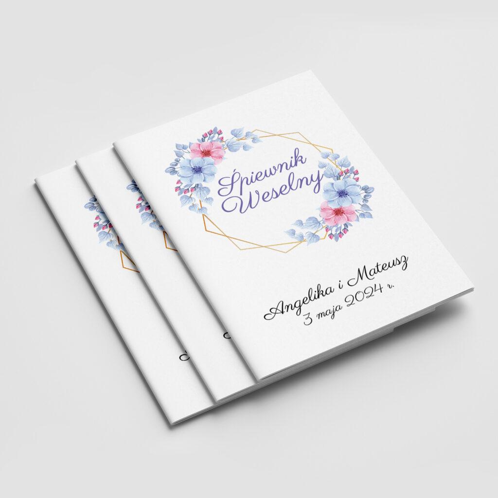 Śpiewnik weselny Sweet Flower