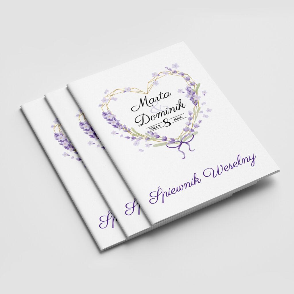 śpiewnik weselny violet love