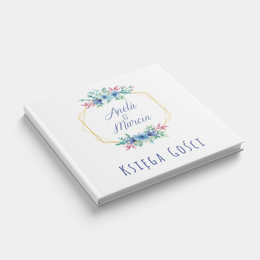 Księga Gości Floral front