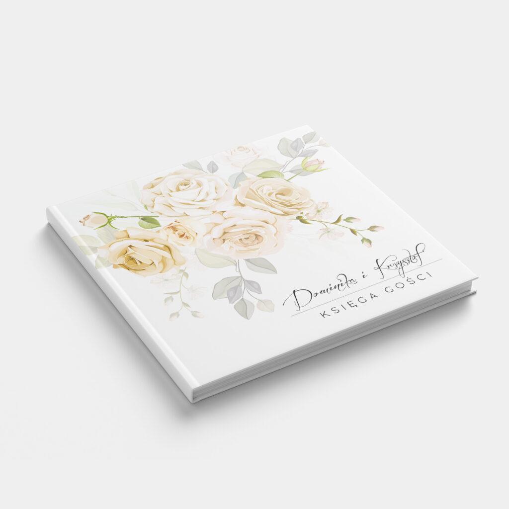 Księga Gości Herbaciane Róże Front