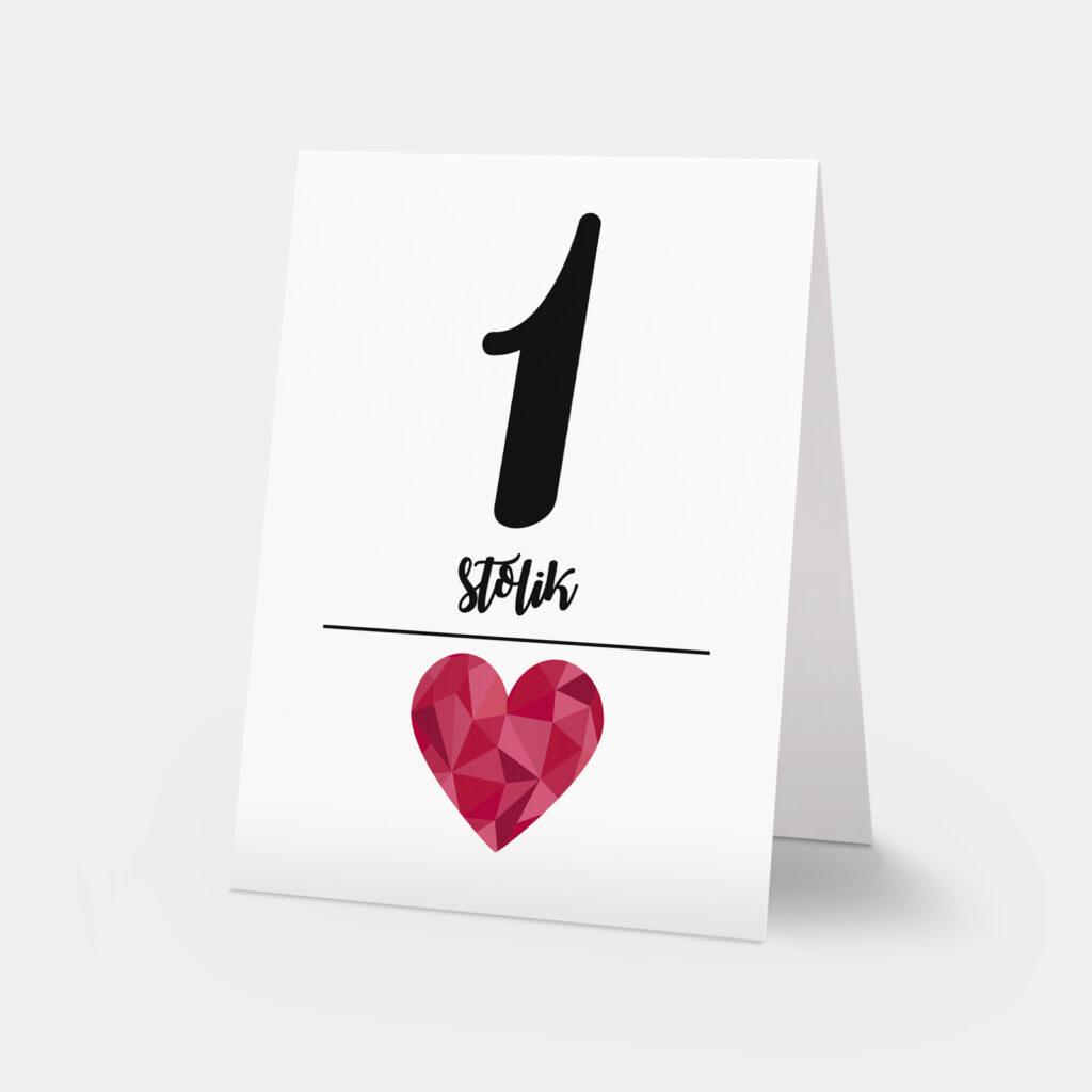 numery stołów big love