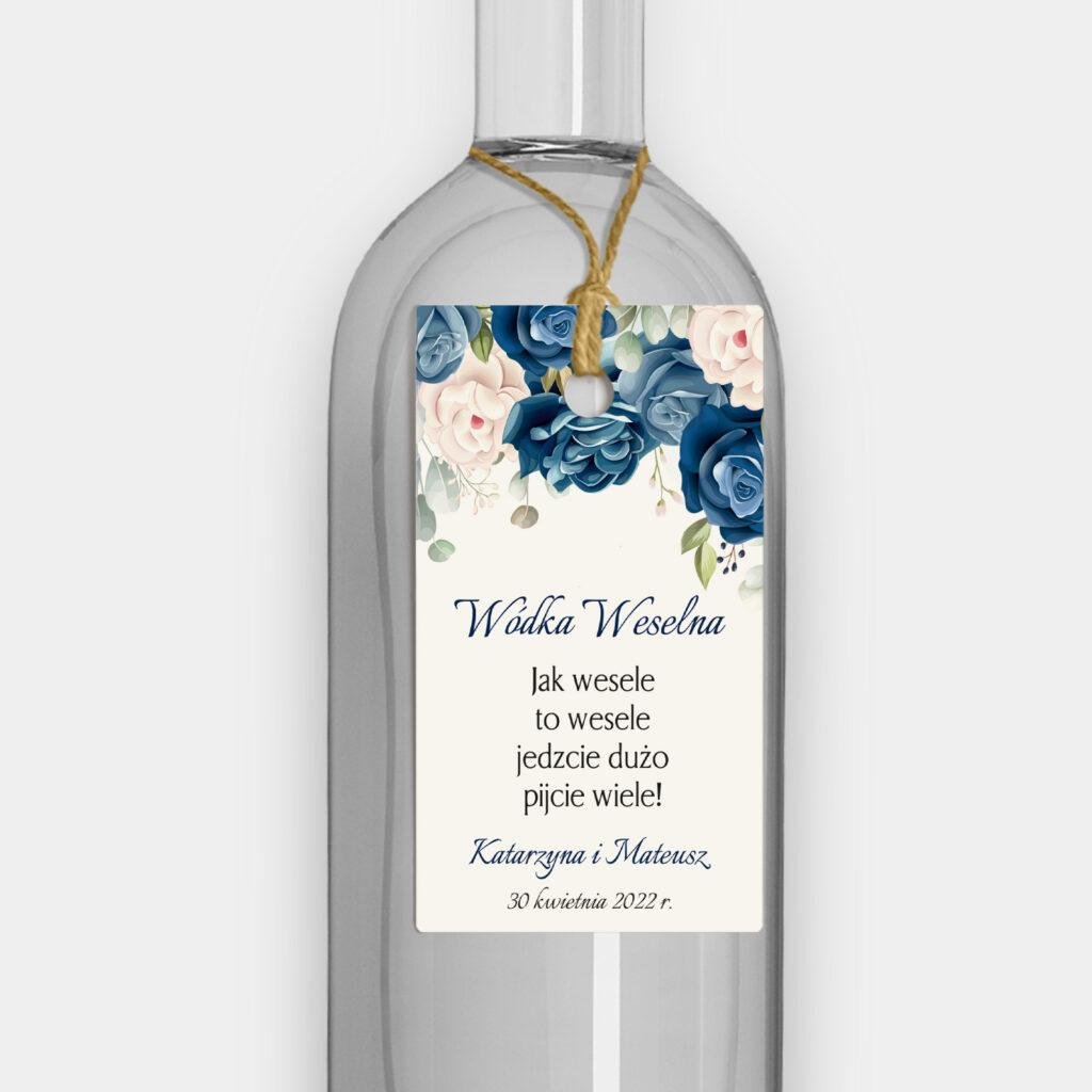 Zawieszka Niebieskie Kwiaty