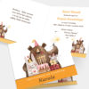 Zaproszenia Urodzinowe Teddy Bear K4